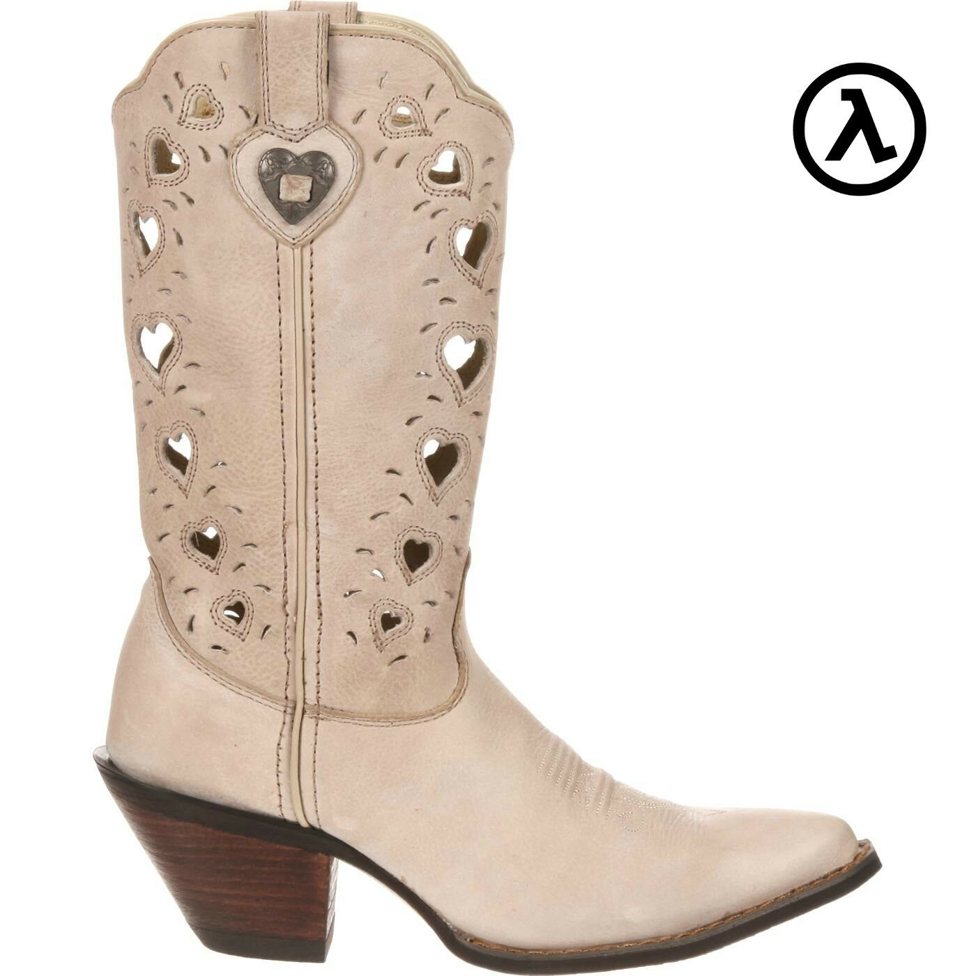 CRUSH BY DURANGO WOMEN'S TAUPE HEARTFELT Stiefel RD3421 - ALL SIZES - NEW