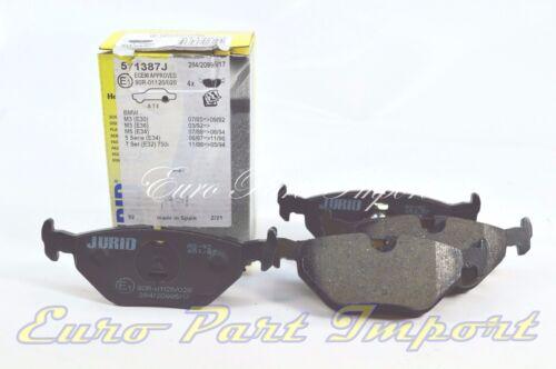 BMW REAR BRAKE PADS 571387J JURID OEM Quality 571387J