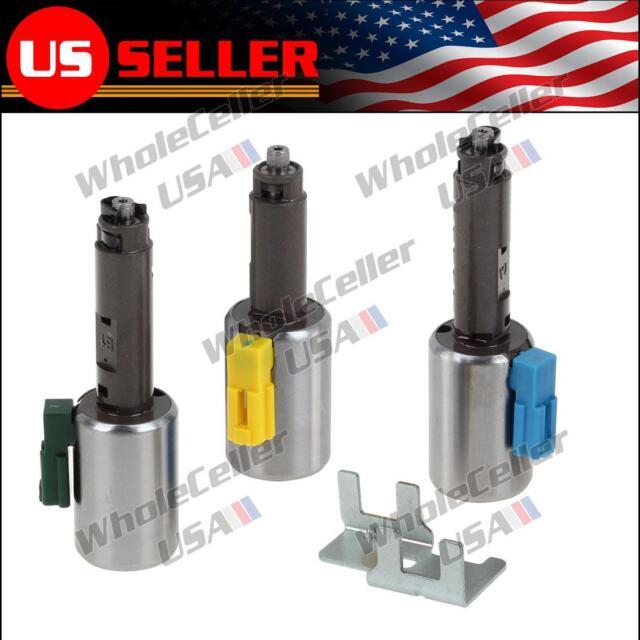 Transmission Linear Solenoid Kit Set AW55-50SN 55-51SN AF33 For Chevrolet