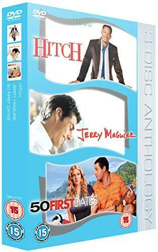 Hitch/Jerry Maguire/50 First Dates DVD (2006) Eva Mendes NEW SEALED