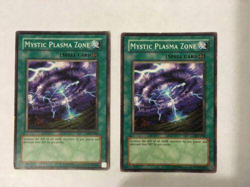 SYE-038 MYSTIC PLASMA ZONE X2 UNLIMITED EDITION YUGIOH CARD S
