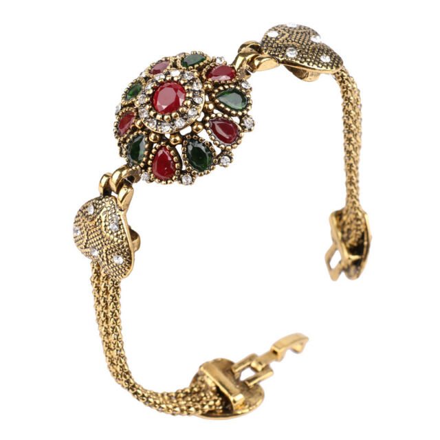 6e7297c4175f0e Turkish Hurrem Style Mixed CZ Rhinestones Women's Fashion Jewelry Bracelets  ...
