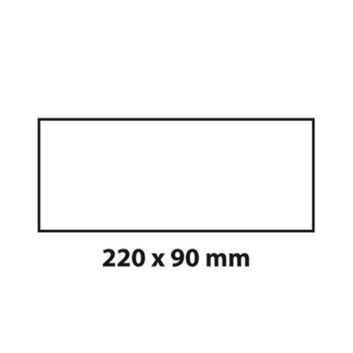 BIELMEIER Hochleistungs-Mauerkasten Flachanschluss BxH Rückstauklap 220x90 mm