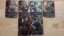 Resident Evil Deck Card Game Albert, Hunk, Yoko, Ada, Alyssa, Cindy