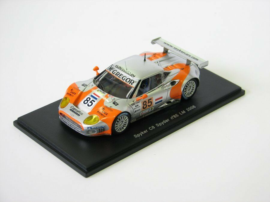 Spyker C8 Spyder LM 2006 S0319 Spark 1 43 new in a box