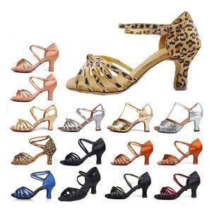 Promotion-Ballroom-Latin-Dance-Shoes-for-Women-Ladies-Girls-heeled-Tango-amp-Salsa
