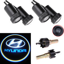 4X Car Door Led Welcome Laser Projector Logo Ghost Shadow Light for Hyundai