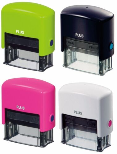 Stationery PLUS Kespon Guard Your Id Stamp 4 Colors IS-200CM 37-171 Japan