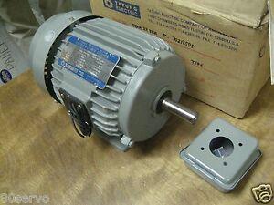 Tatung electric 2hp ac motor tb0022ffa 208 230 460vac for 300 hp ac electric motor