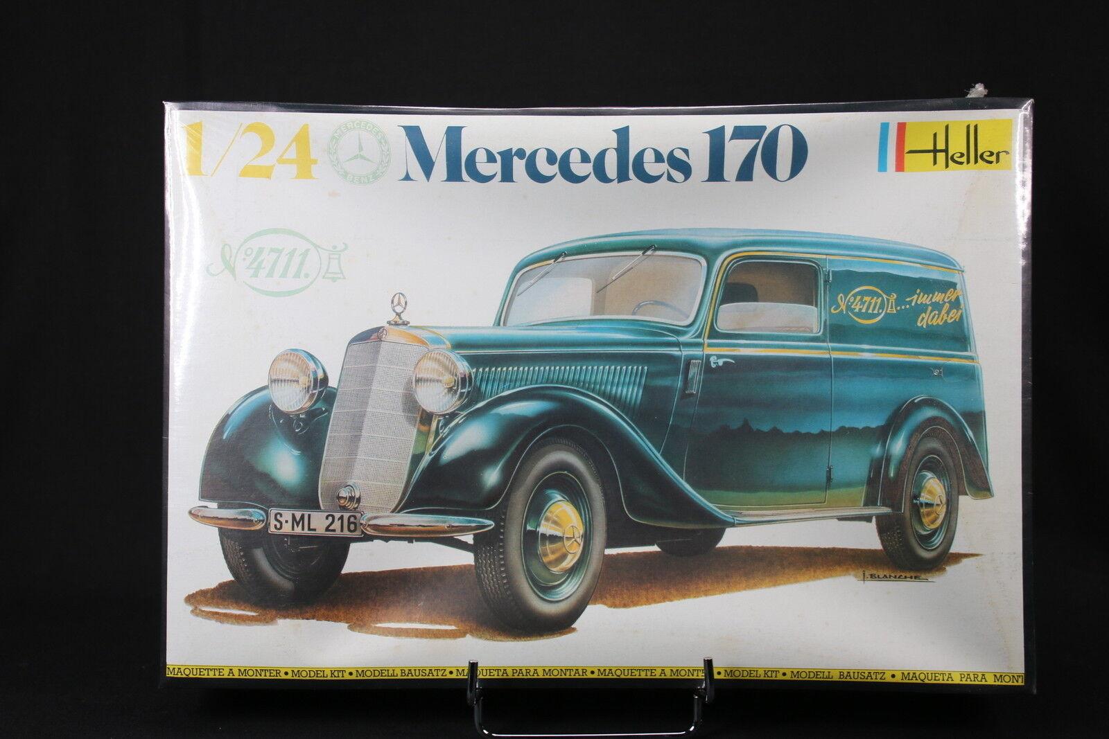 YS011 HELLER 1 24 rare maquette voiture 736 Mercedes 170 année 1983