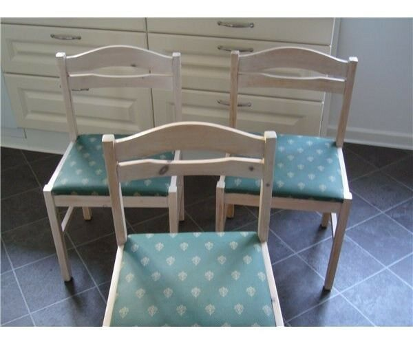 Spisebordsstol, fyrretræ
