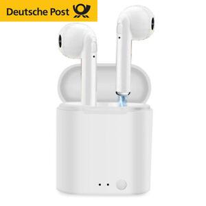 Bluetooth 5.0 Kopfhörer In-Ear Headset Mini Ladebox für Samsung Huawei iPhone
