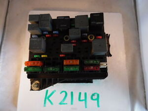 2003 03 chevrolet chevy bu fuse box control module unit k2149 image is loading 2003 03 chevrolet chevy bu fuse box control