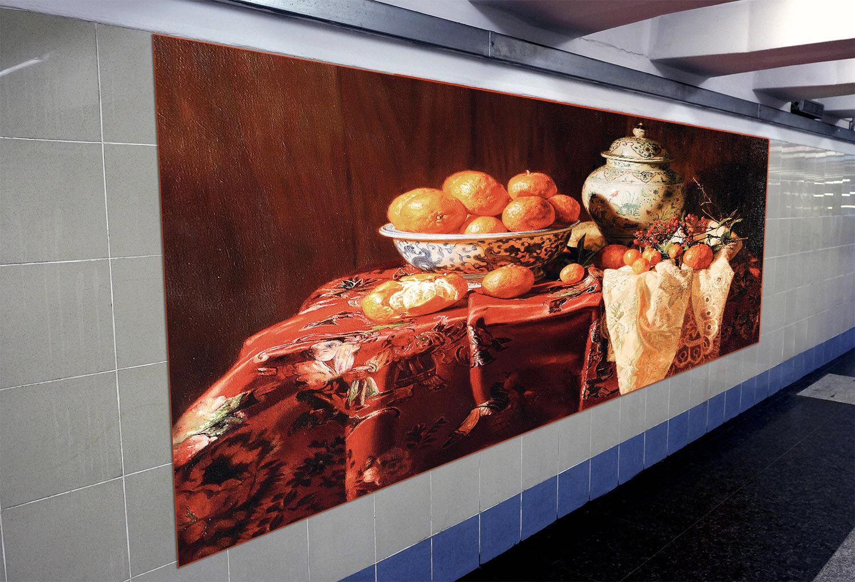3D oranges Pottery 73 Wall Paper Murals Wall Print Wall Wallpaper Mural AU Kyra