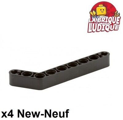 Lego Technic 4x Liftarm 1x2 thick épais noir//black 43857 NEUF