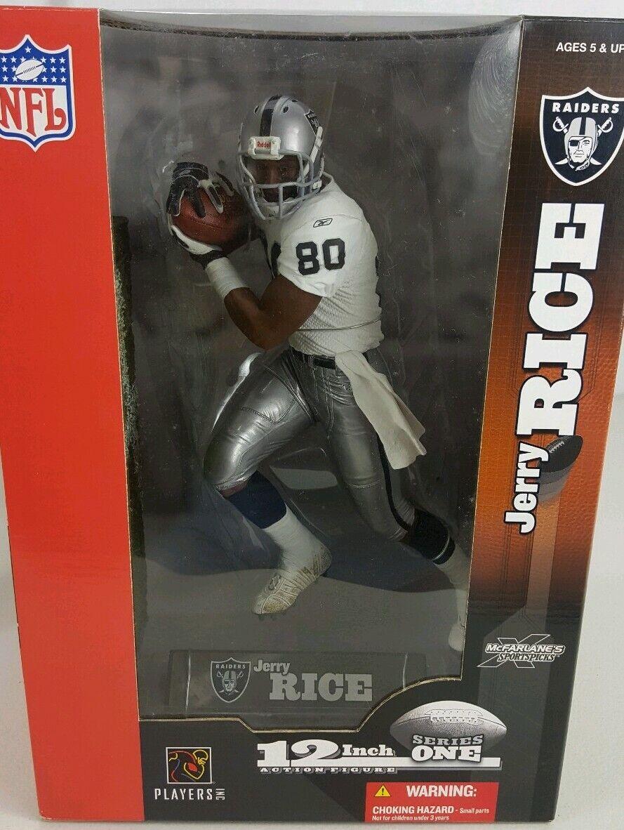 MCFARLANE 12 pollici Jerry RICE NFL Oakle Raiders statuacifra