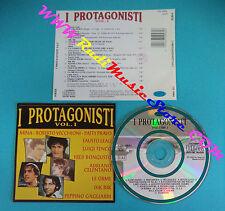 CD Compilation I PROTAGONISTI VOL.1 CD 10081 MINA LEALI TENCO no lp mc(C18)