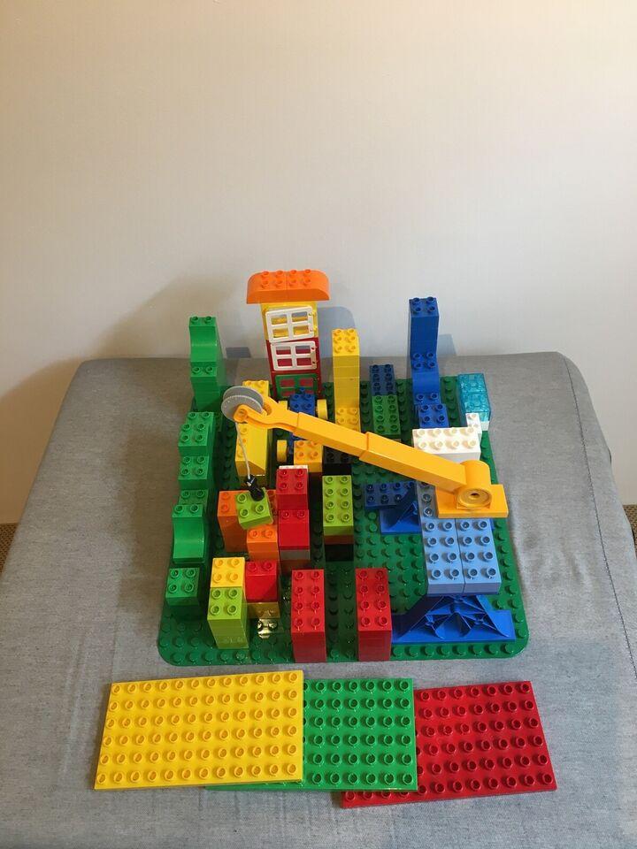 Lego Duplo, Kran og plader