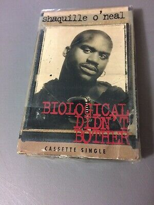 SHAQUILLE O'NEAL BIOLOGICAL DIDN'T BOTHER FACTORY SEALED CASSETTE SINGLE C33