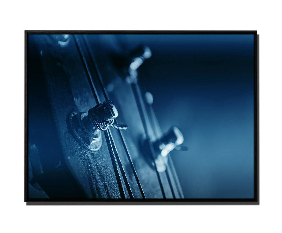 105x75cm tela petrolio akkustikgitarre registrazione macro