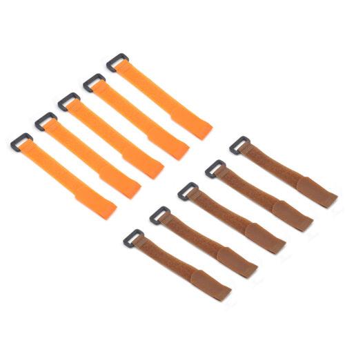 10x Fishing Rod Tie Holder Strap Fastener Ties Fishing Tools Supply Accessory