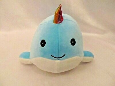 """Kellytoy Squishmallow Unicorn Narwhal Whale 11.5/"""" NEW"""