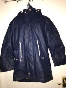 1b7c9bd5278a John Lewis Boys  Zinfandel Rubber Mac Coat 6 YEARS