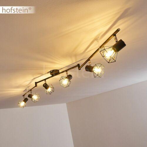Vintage Anthrazit Decken Lampe Flur Strahler verstellbar Wohn Zimmer Beleuchtung