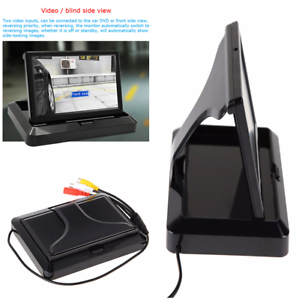 5-039-039-Foldable-TFT-LCD-HD-Monitor-Car-Reverse-Rear-View-Monitor-for-Camera-DVD-VCR