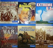 Social Studies 5th Grade On Level 5 The United States by HSP 6 Books Harcourt