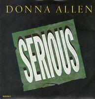 "Donna Allen  - Serious - 7 "" Single"