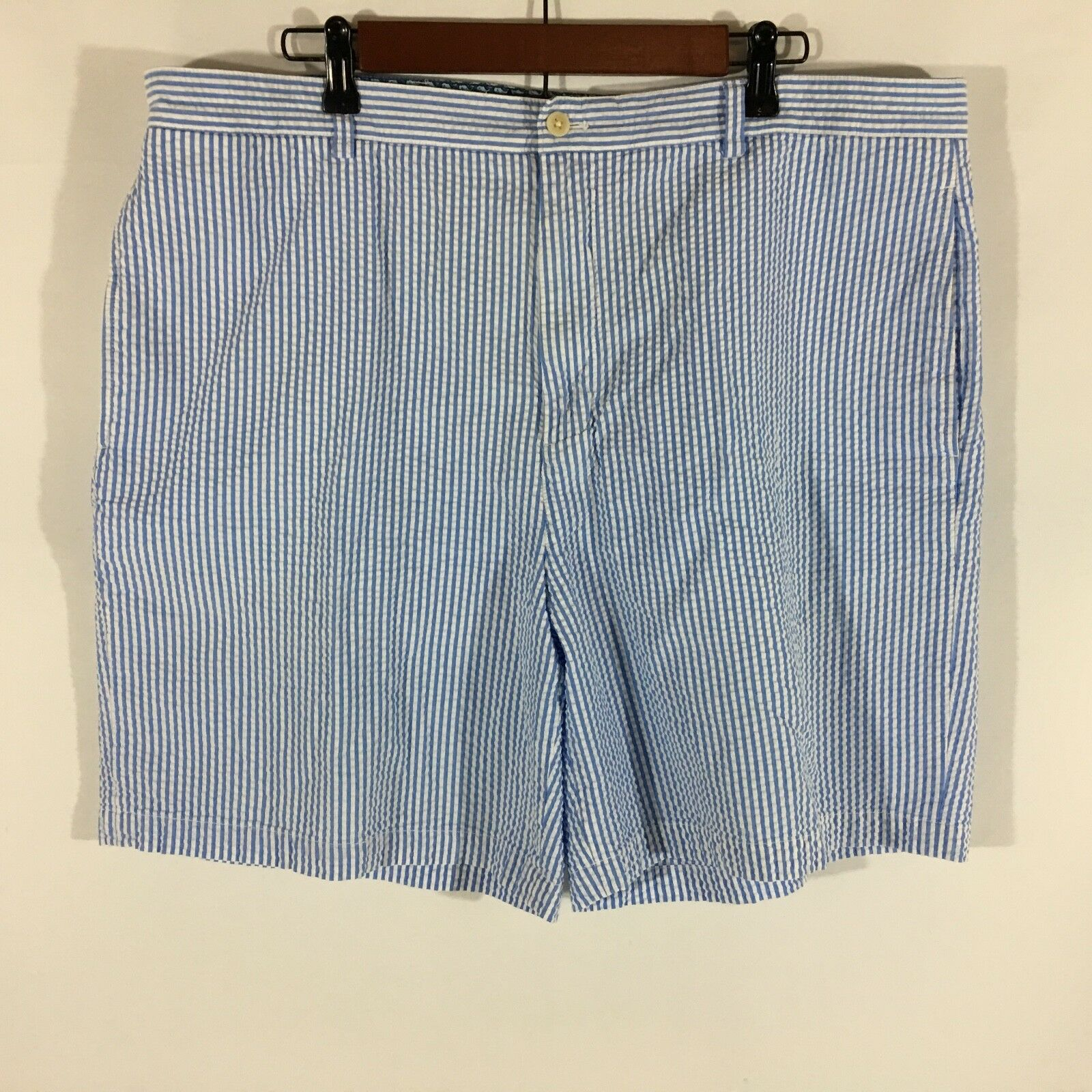 Vineyard Vines 100% Cotton bluee Men's Casual Shorts Waist 40 Inseam 8