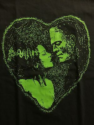 Frankenstein Bride of Retro look TV Show walking dead shirt vintage 100% Cotton