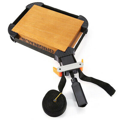 BAND STRAP WOOD BOX CORNER MITER FRAME CLAMP WOODWORKING GLUING VISE TOOL