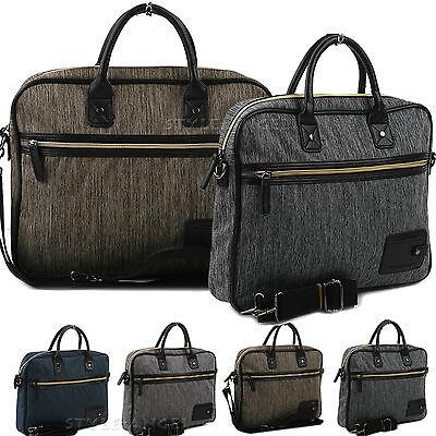 Women Handbag Lady Cross Body Shoulder Bag Unisex Business Laptop Bag Briefcase