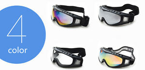 3 Lens Tactical Airsoft UV-400 Protective Paintball Military Goggle Safety Glass