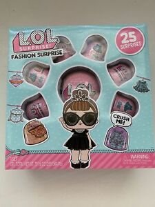 LOL Surprise Fashion Crush Eye Spy Series Fashion Surprise Set 25 Surprises