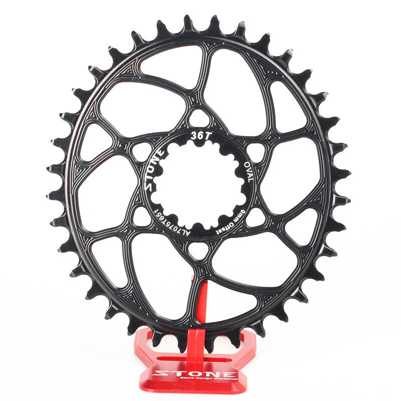 Stone  MTB Bike Oval Single Chainring Chain Ring 0mm offset For SRAM BB30 X7 X9  online