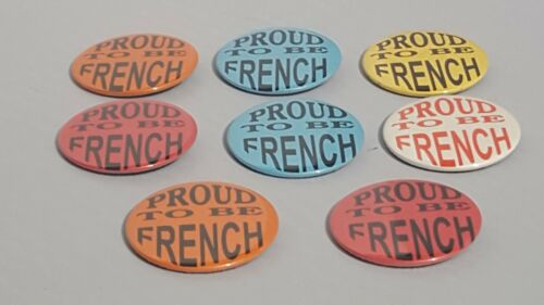 8 Proud To Be French Buttons Cheer On France In The World Cup 2018