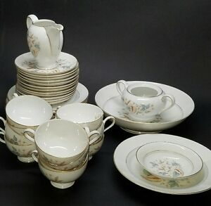 Image is loading 39-Piece-Set-Vintage-Rosenthal-Thomas-Germany-China- & 39 Piece Set Vintage Rosenthal Thomas Germany China Set