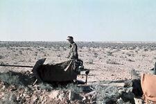 WW2 photo German in North Africa by Erwin Rommel #01