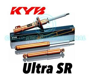 2x NEW KYB FRONT ULTRA SR Twin Tube SHOCK ABSORBERS Part No. 323034