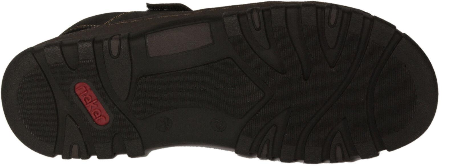 RIEKER Schuhe FreizeitSandale Sandale FreizeitSandale Schuhe Trekking schwarz Klettverschluss NEU 1a3ea1