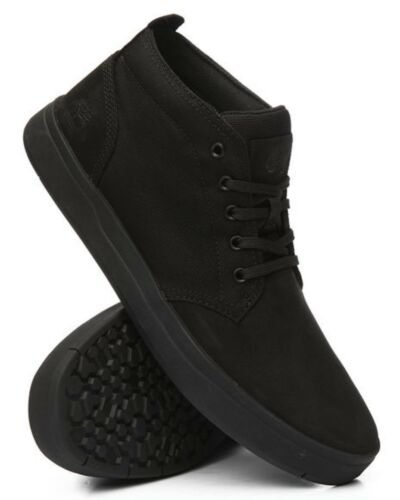 M TIMBERLAND TB0A1T16001 DAVIS SQUARE Mn´s Blackout Nubuck Casual Boots