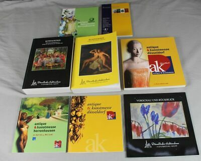 Beliebte Marke 8x Kunstkatalog , Katalog Zur Kunst Messe Düsseldorf + Herrenhausen - Ca. 5,2 Kg