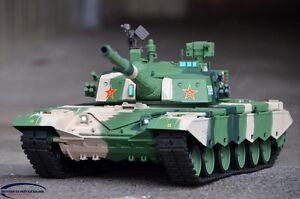 Tanks & Military Vehicles Heng Long 1/16 BB ZTZ 99 RC Battle Tank
