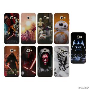 Star-Wars-Coque-Etui-Case-pour-Samsung-Galaxy-A5-2017-Doux-Silicone-Gel-TPU