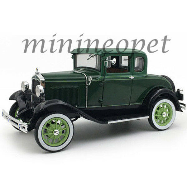 SUN STAR 6133 1931 FORD MODEL A COUPE 1 18 DIECAST MODEL CAR VALLEY GREEN