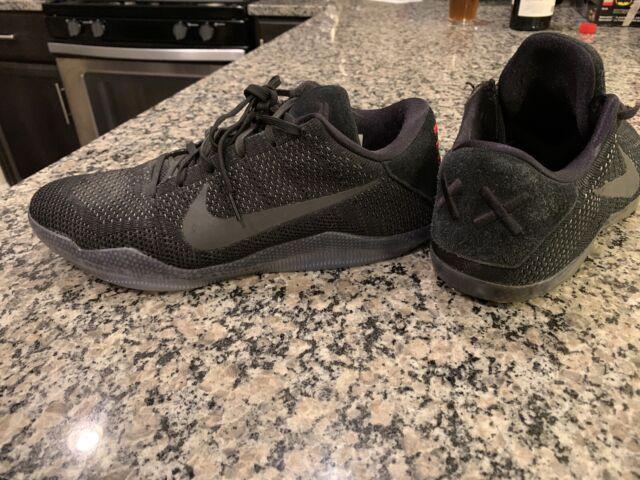 Nike Kobe XI Elite Low Black Space 11
