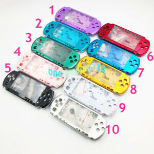 10-Colors-For-PSP3000-PSP-3000-Shell-Case-Replacement-Full-Housing-Cover-Buttons